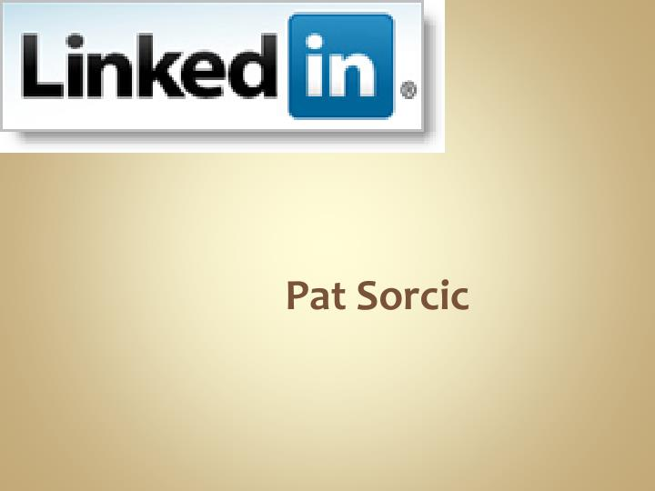 Pat Sorcic