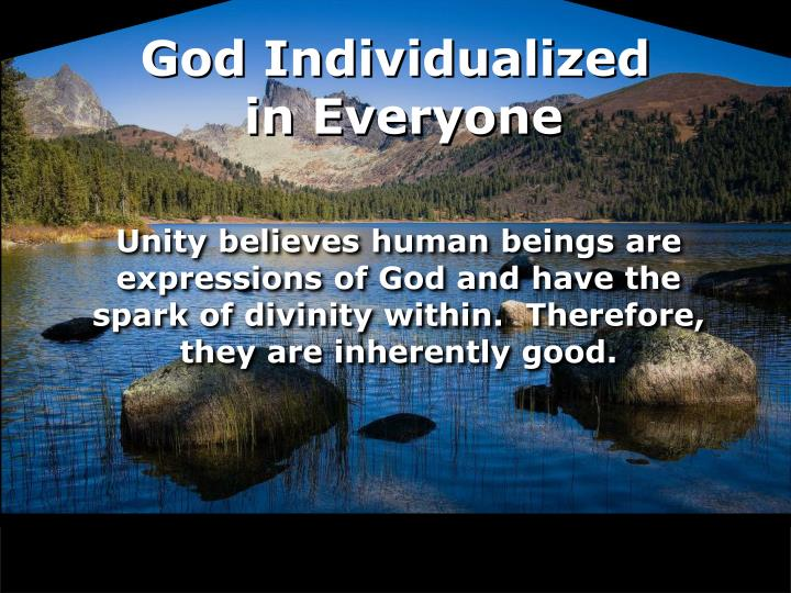 God Individualized