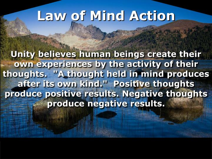 Law of Mind Action