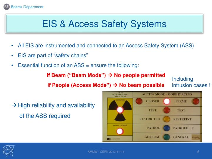 EIS & Access Safety Systems