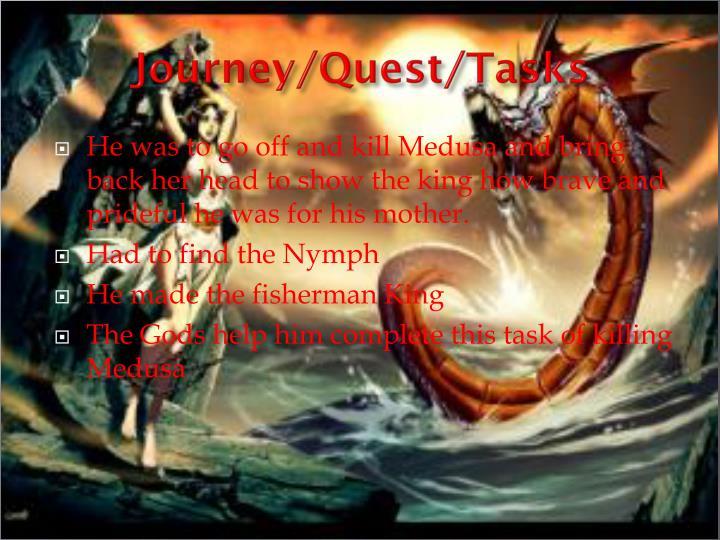 Journey/Quest/Tasks