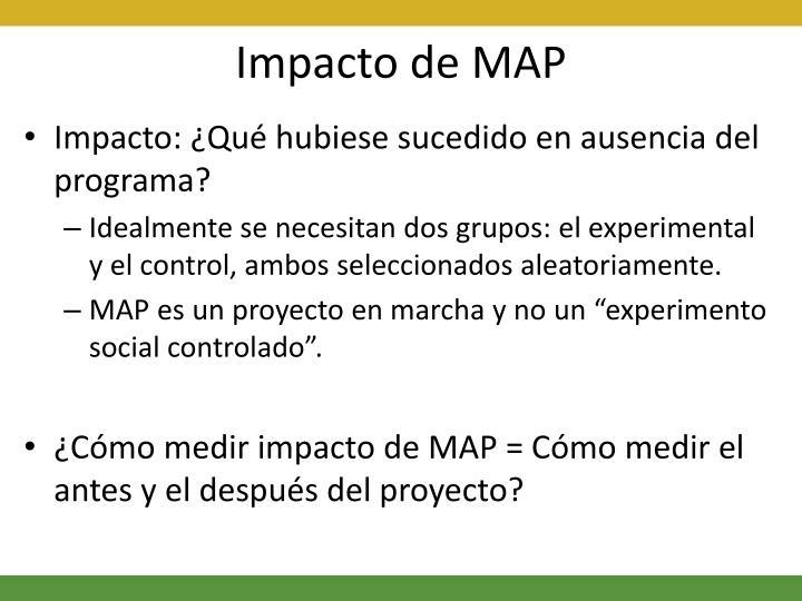 Impacto de MAP