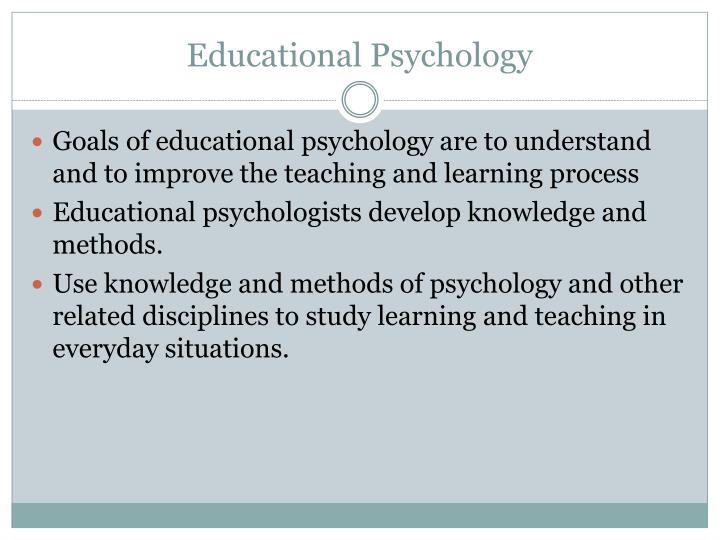 education psychology method