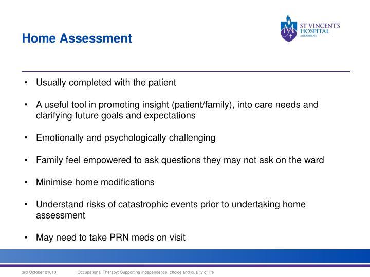 Home Assessment