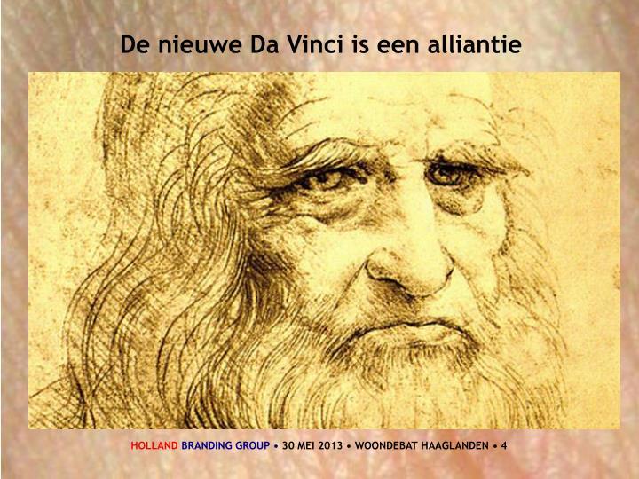 De nieuwe Da Vinci is een alliantie