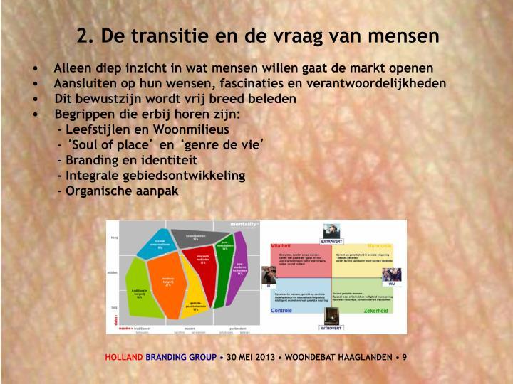 2. De transitie en de vraag van mensen