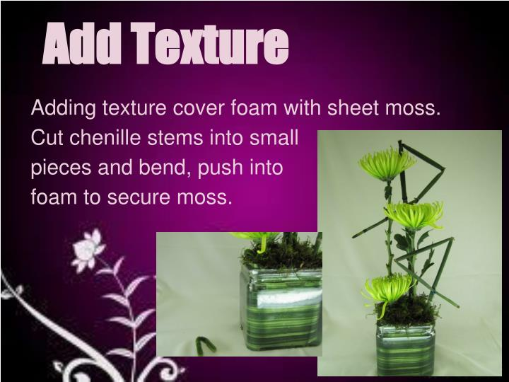 Add Texture
