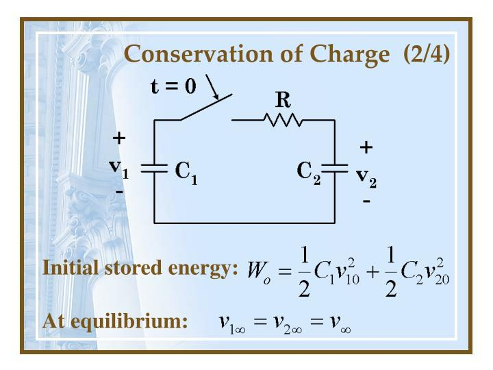 Conservation of charge 2 4