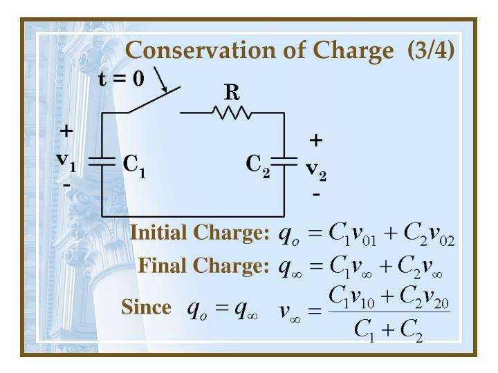 Conservation of Charge  (3/4)