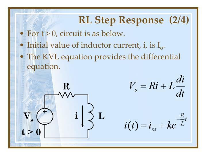 RL Step Response  (2/4)