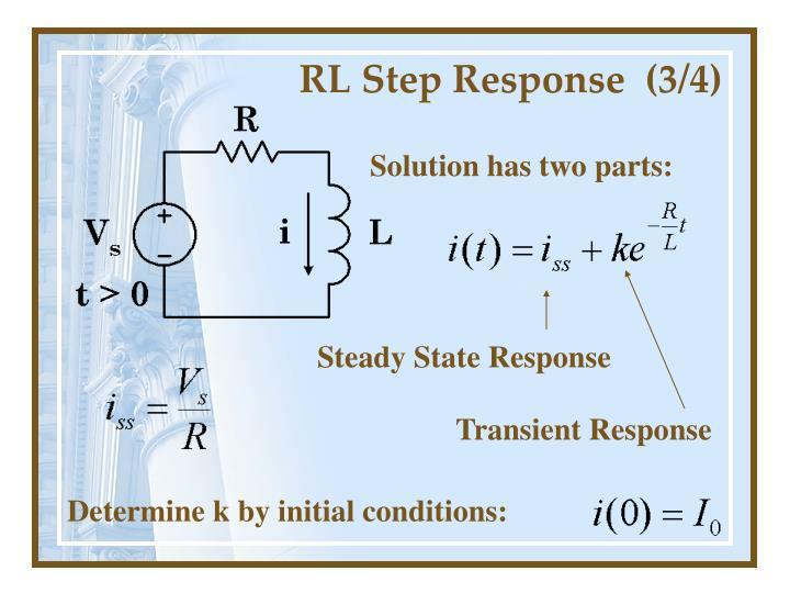 RL Step Response  (3/4)