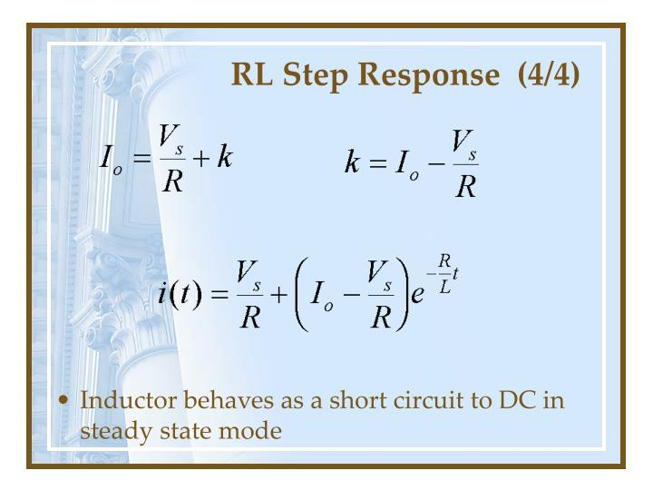 RL Step Response  (4/4)