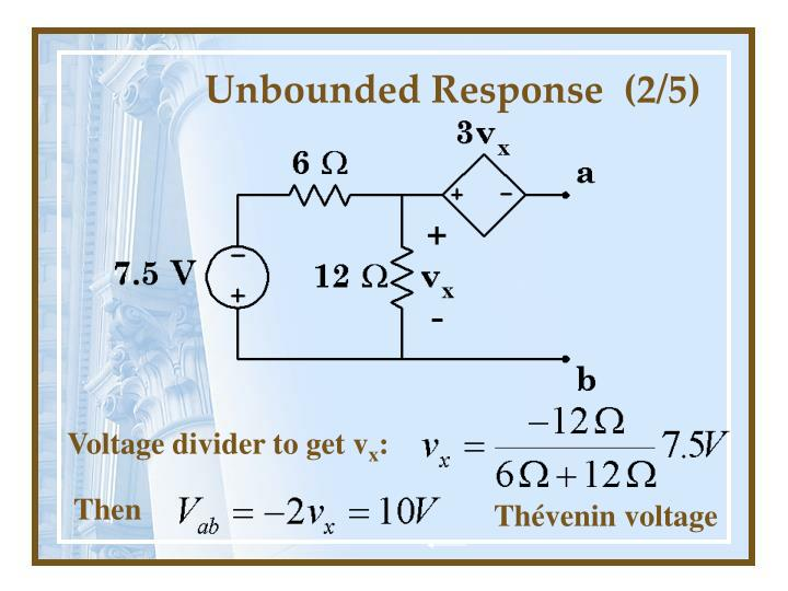 Unbounded Response  (2/5)