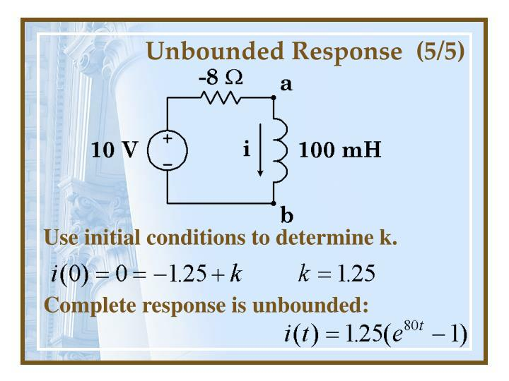 Unbounded Response  (5/5)