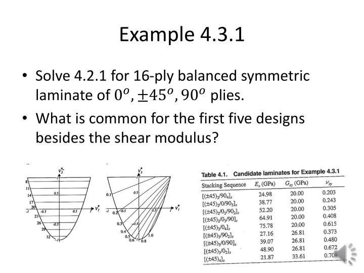 Example 4.3.1