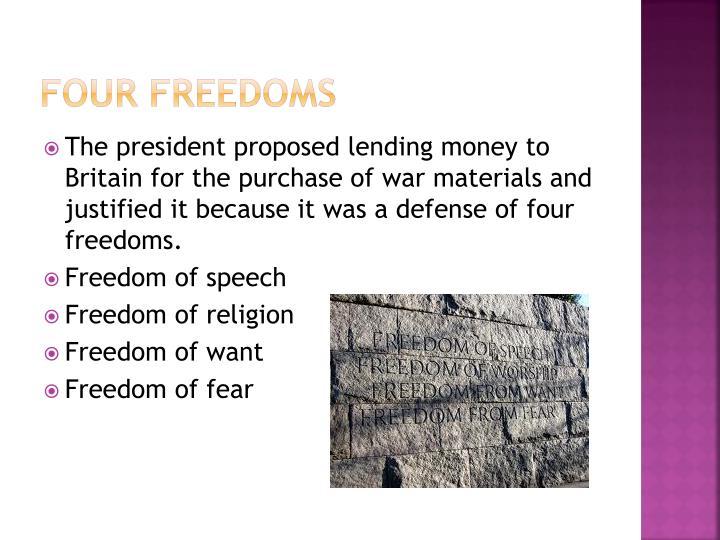 Four Freedoms