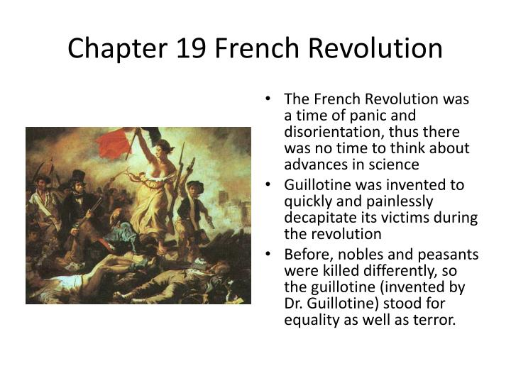 Chapter 19 test the french revolution