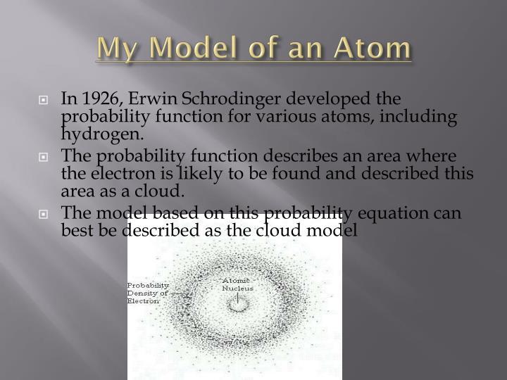 My Model of an Atom