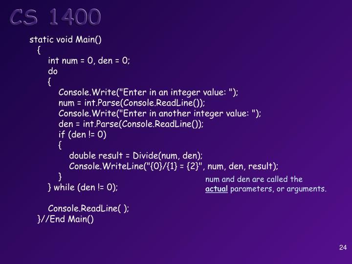 static void Main()