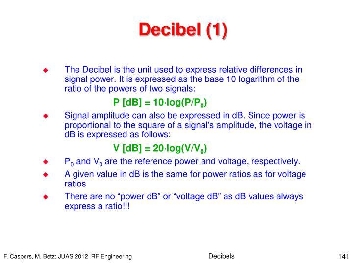 Decibel (1)