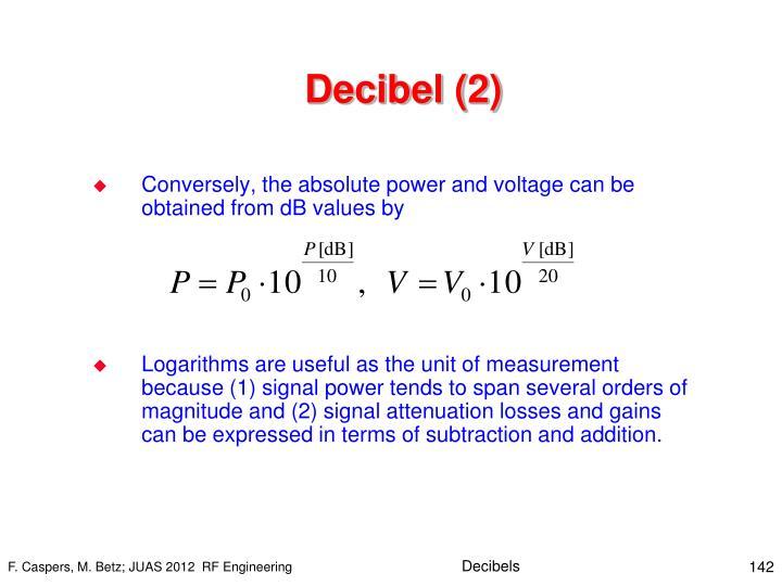 Decibel (2)