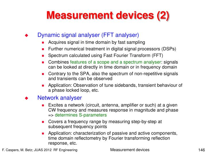 Measurement devices (2)