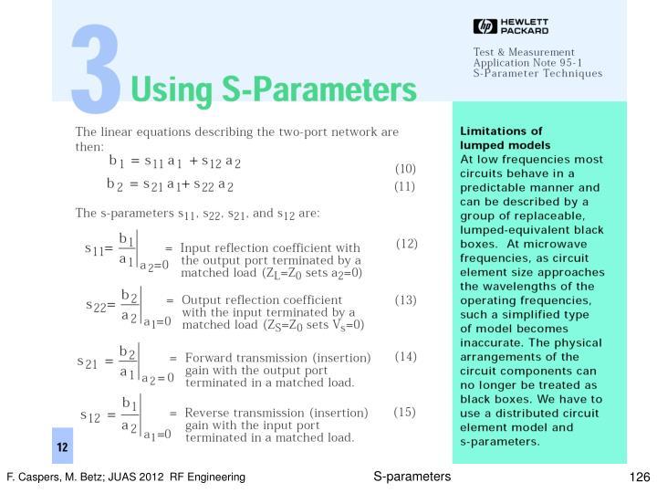 S-parameters