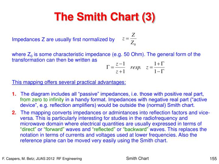 The Smith Chart (3)