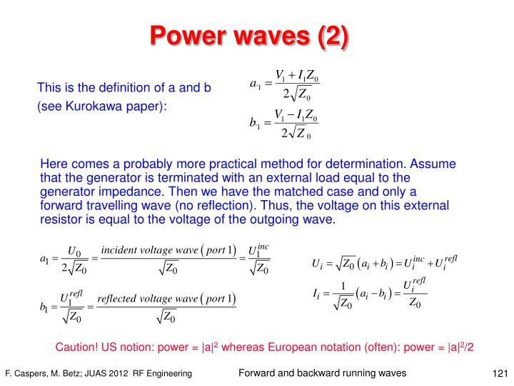 Power waves (2)