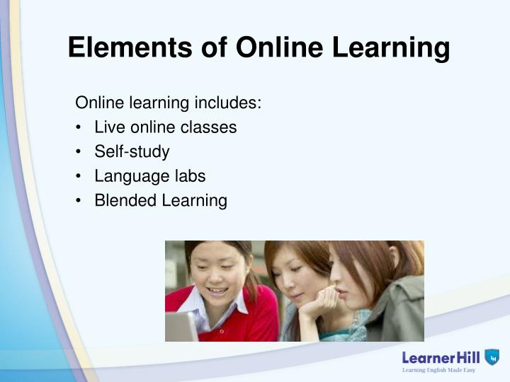 Elements of Online Learning