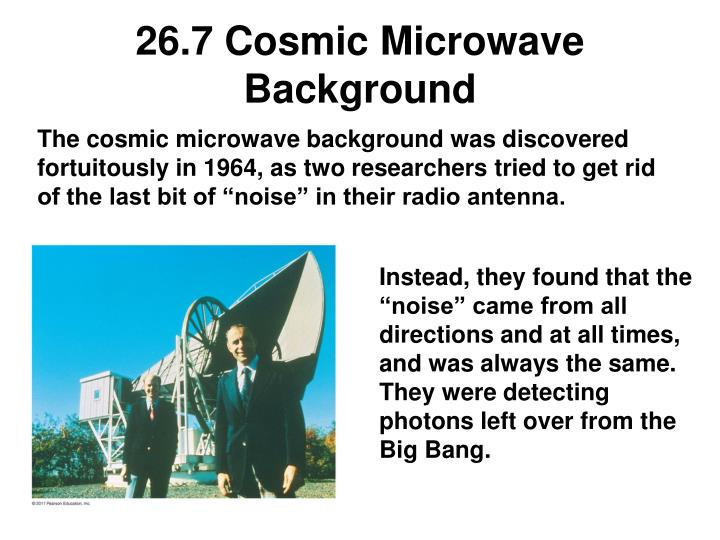 26.7 Cosmic Microwave Background