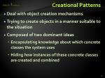 creational patterns1