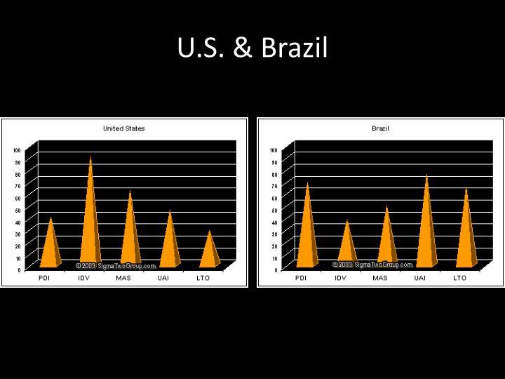U.S. & Brazil