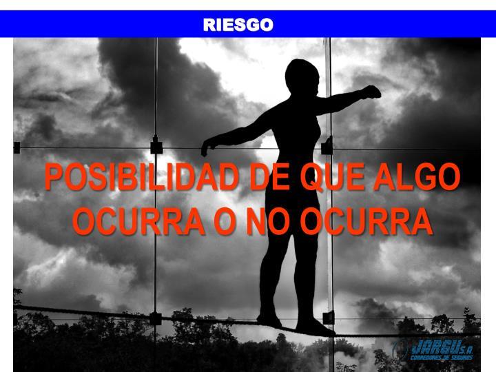 RIESGO