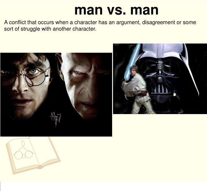 man vs. man