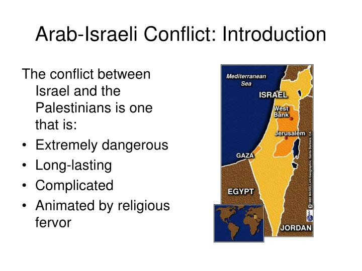 ee essay on Analysis of the Arab - Israeli Conflict