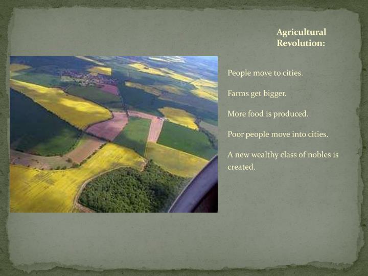 Agricultural Revolution: