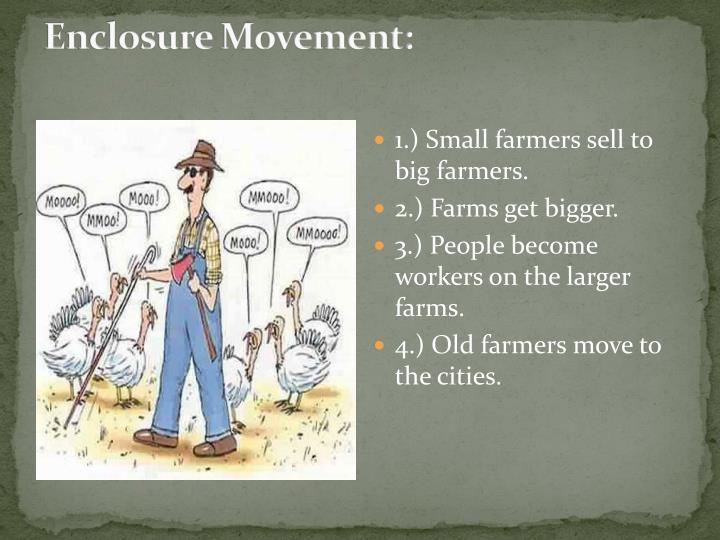 Enclosure Movement: