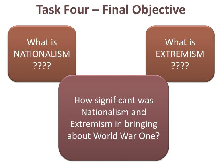 Task Four – Final Objective