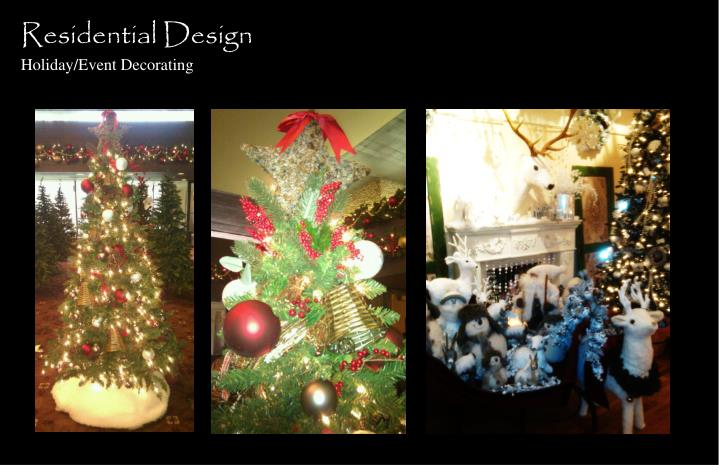 Residential design holiday event decorating1