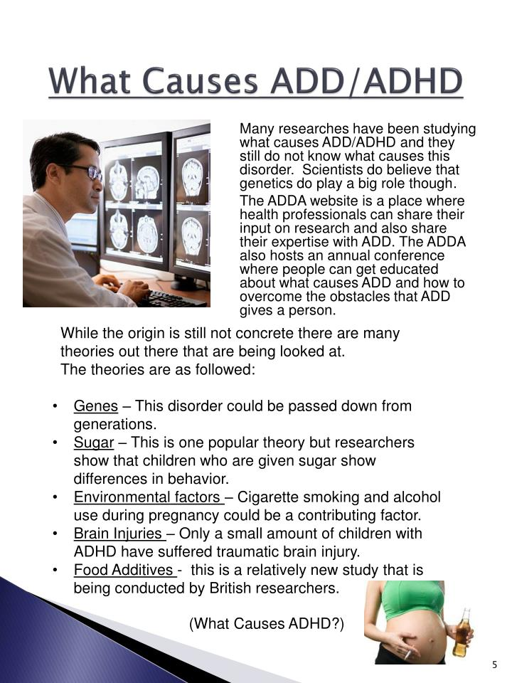 What Causes ADD/ADHD