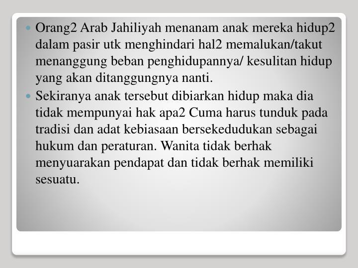 Orang2 Arab