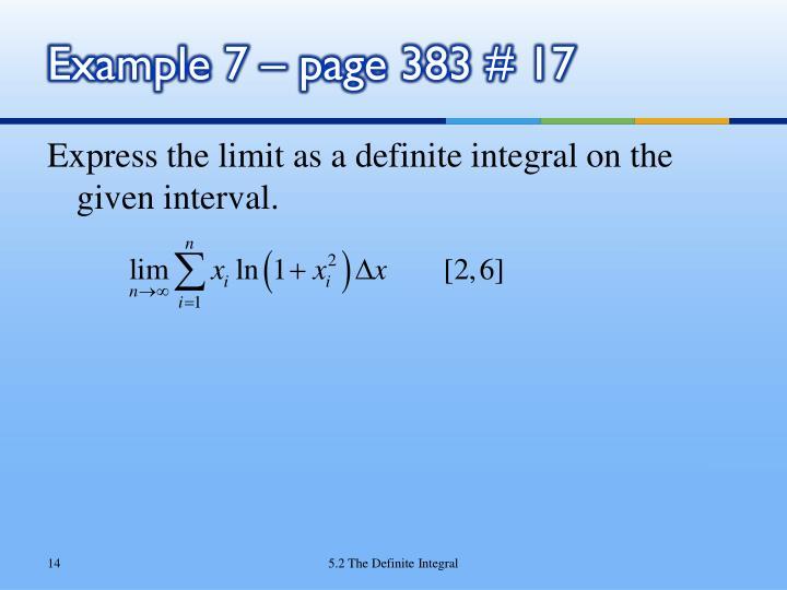PPT - Chapter 5 - Integrals PowerPoint Presentation - ID ...