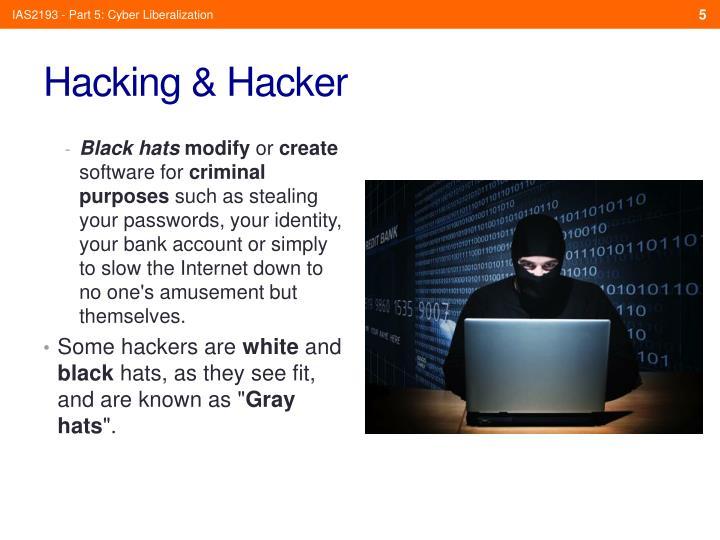 IAS2193 - Part 5: Cyber Liberalization