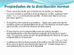propiedades de la distribuci n normal