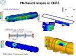 mechanical analysis at cnrs