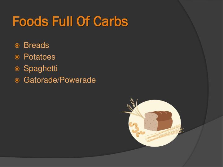 Foods Full Of