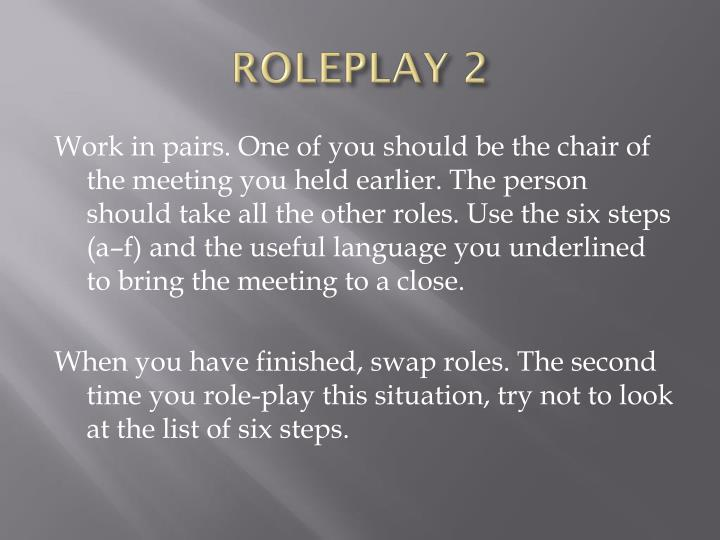 ROLEPLAY 2