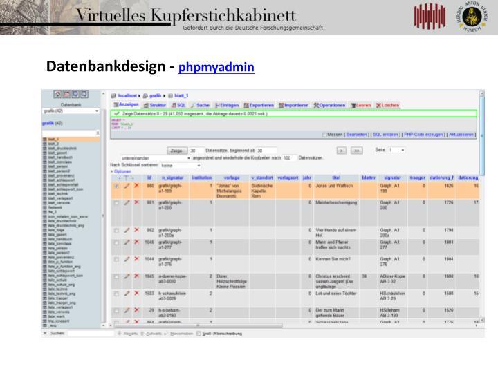 Datenbankdesign -