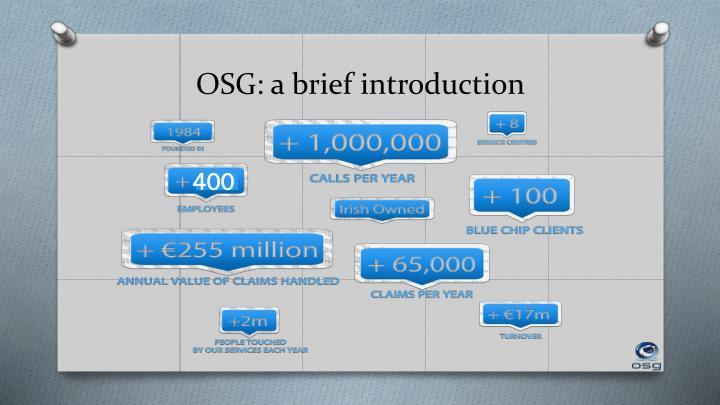 OSG: a brief introduction
